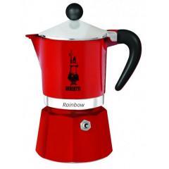 Rainbow kotyogós kávéfőző 3 adag, piros