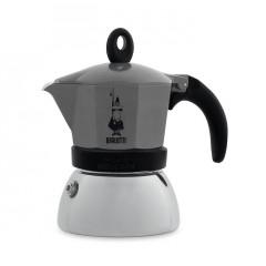 Moka Induction kotyogós kávéfőző 3 adag, antracit